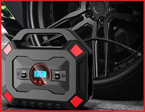 Compressore aria portatile 12v