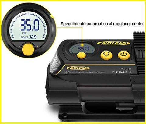 Compressore 12v Portatile Auto