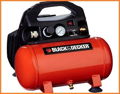 Compressore Aria Portatile Black & Decker 6 Litri