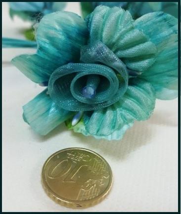 Confetti a forma di fiore colorato 36 pezzi