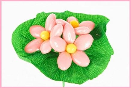 Fiori confetti rosa