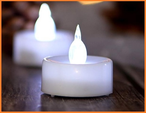 Lumini led candela