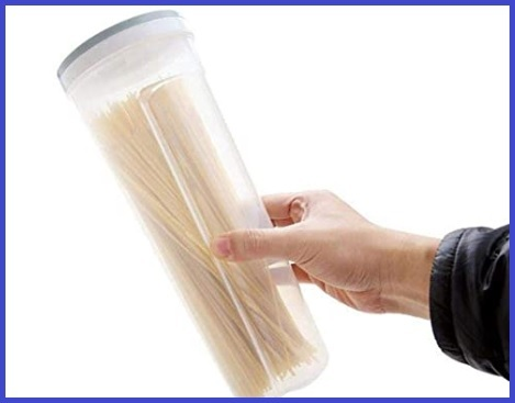 Contenitore in plastica per spaghetti