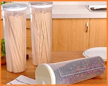 Contenitore per spaghetti in vetro