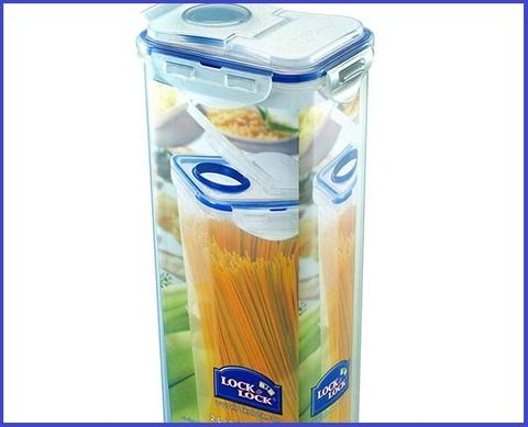 Contenitore per spaghetti plastica lock
