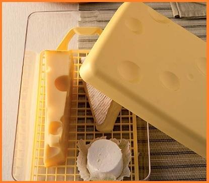 Contenitore salva formaggio rettangolare