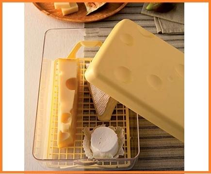 Contenitore formaggio frigo vetro