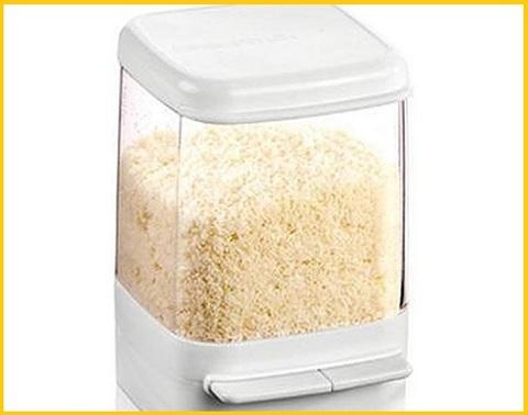 Contenitore formaggio grattugiato frigo