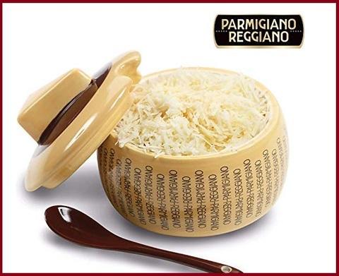 Contenitore formaggio grattugiato parmigiano