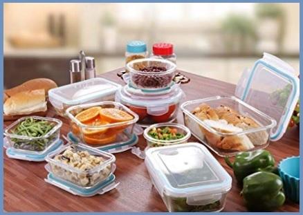 Contenitori alimentari vetro
