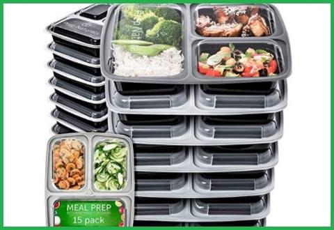 Contenitori alimenti microonde set