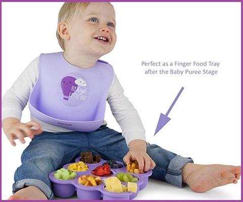 Contenitori alimenti bambini viola