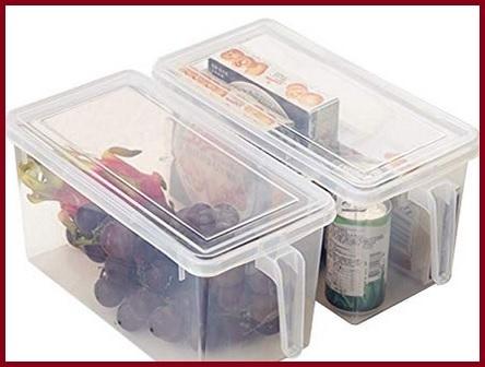Contenitori alimenti frigorifero