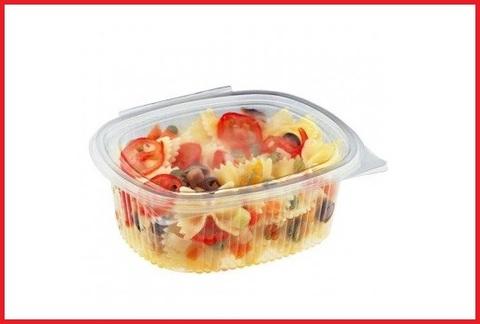 Contenitori per alimenti in pet trasparenti