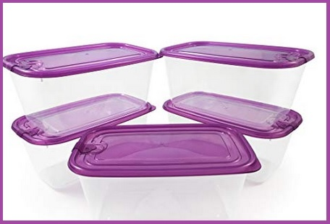 Contenitori Per Alimenti In Plastica Con Coperchio