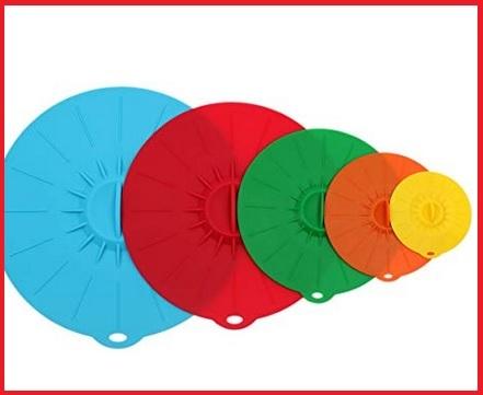 Coperchi ciotole colorati