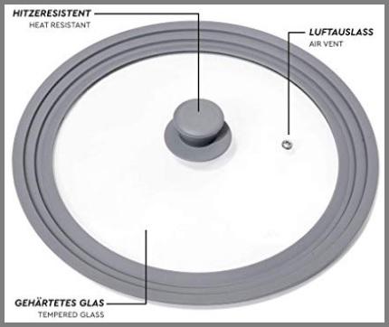 Coperchio in vetro 24 cm