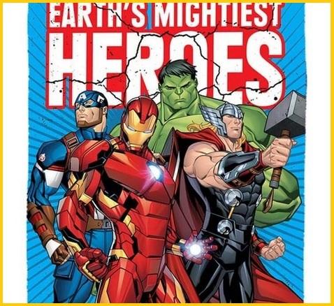 Coperta pile avengers ufficiale