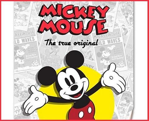 Coperta Pile Neonato Disney