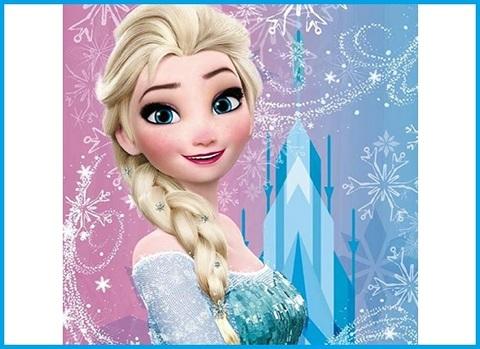 Coperta Frozen Pile Cartone