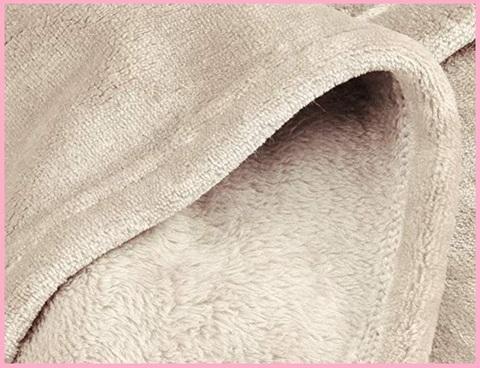 Coperta Pile Rosa Antico