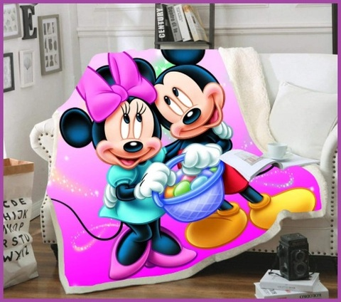 Coperta Pile Bambino Disney