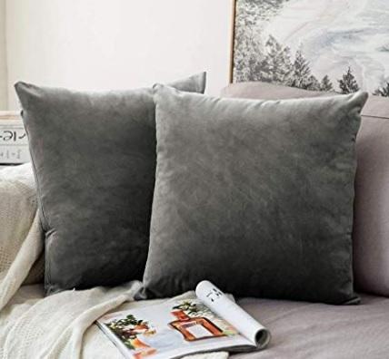 Copricuscini divano grigio