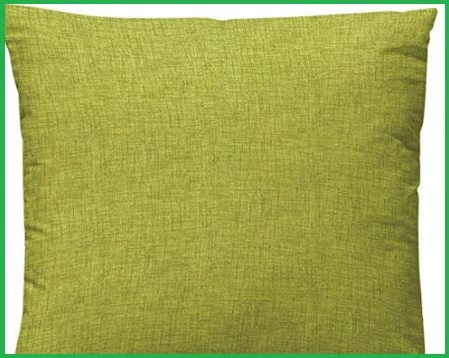 Copricuscino 50x50 verde