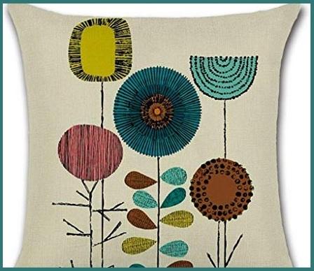 Copricuscini cotone divano