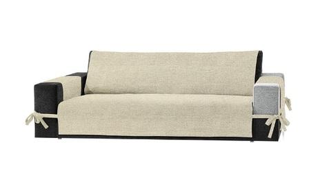 Copridivano naturale per 3 posti protegge divano