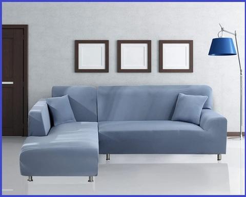 Copridivano per divano in pelle con penisola