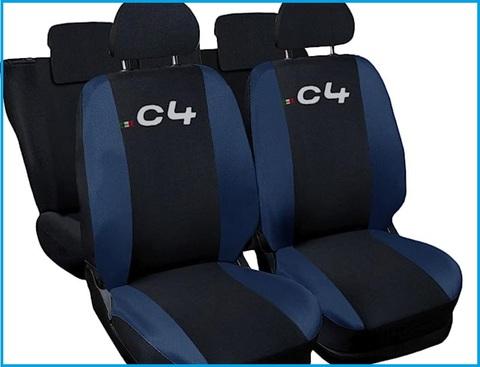 Coprisedili Posteriori Auto Blu