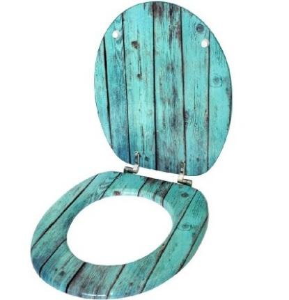 Coprisedile per il bagno in legno robusto
