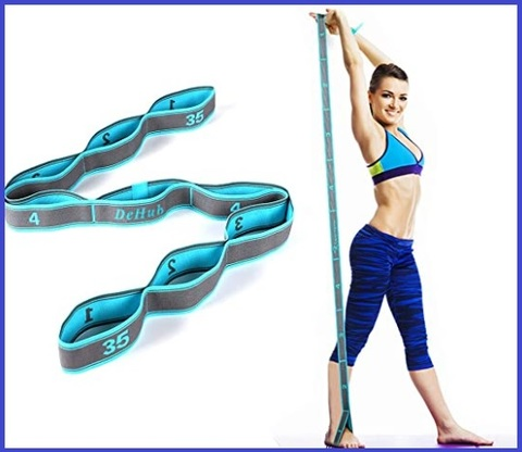Corda elastica fitness con ganci