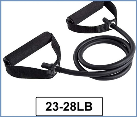 Corda resistenza fitness con maniglie