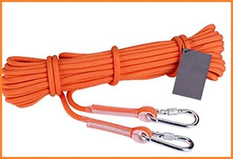 Corda per alpinismo colorata