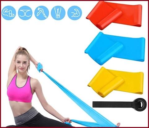 Fasce elastiche aperte colorate