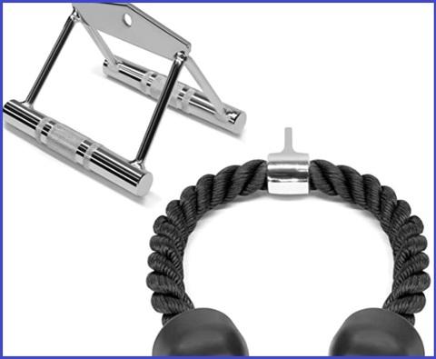 Corda tricipiti con trazioni