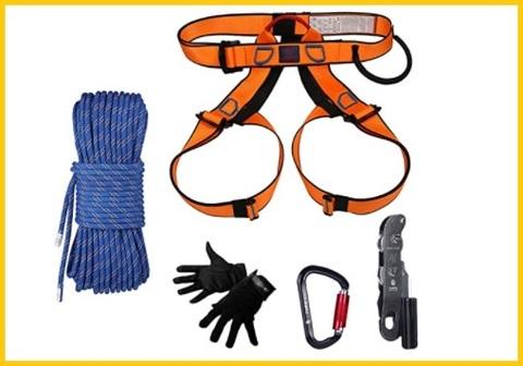 Corde arrampicata imbracatura con sicurezza