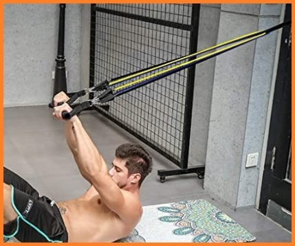 Corda elastica allenamento a molla