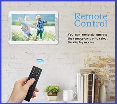 Cornice foto digitale e telecomando