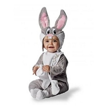 Costume di carnevale bugs bunny baby looney tunes