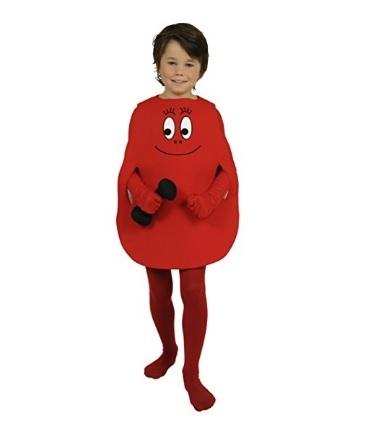 Barbapapà costume rosso per bambini