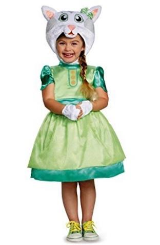 Costume intero per bambine di daniel tiger katerina