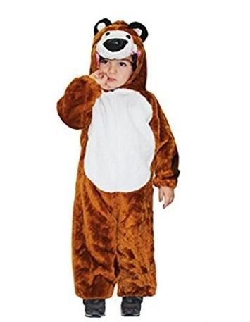 Costume di carnevale dell'orso di masha e orso