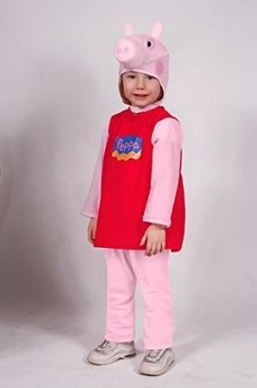 Costume di peppa pig per bambine