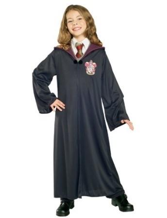 Da Uomo Deluxe Costume di Harry Potter Grifondoro Robe Con Licenza Costume Vestito