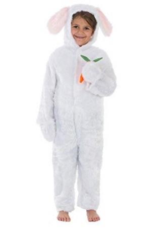 Costume da coniglietto per 10-12 anni