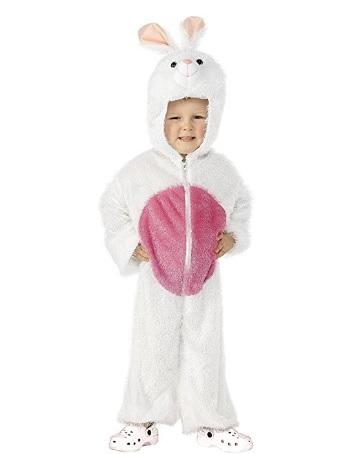 Costume di carnevale da coniglio per bambini piccoli