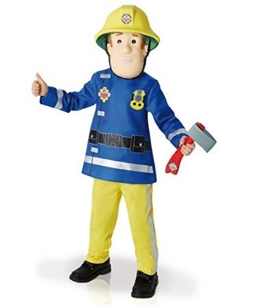 Costume di sam il pompiere con accessori